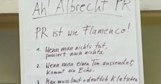 PR ist wie Flamenco -Vortrag Angelika Albrecht