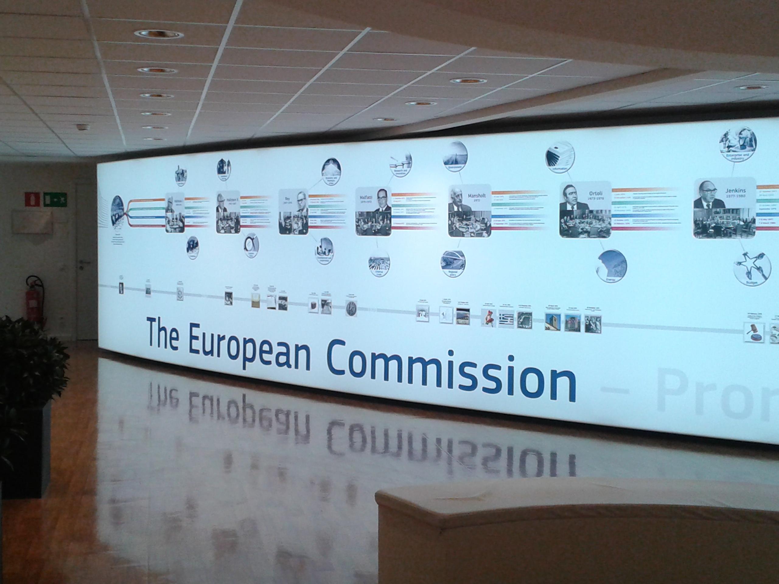 Foyer der Europäischen Kommission in Brüssel