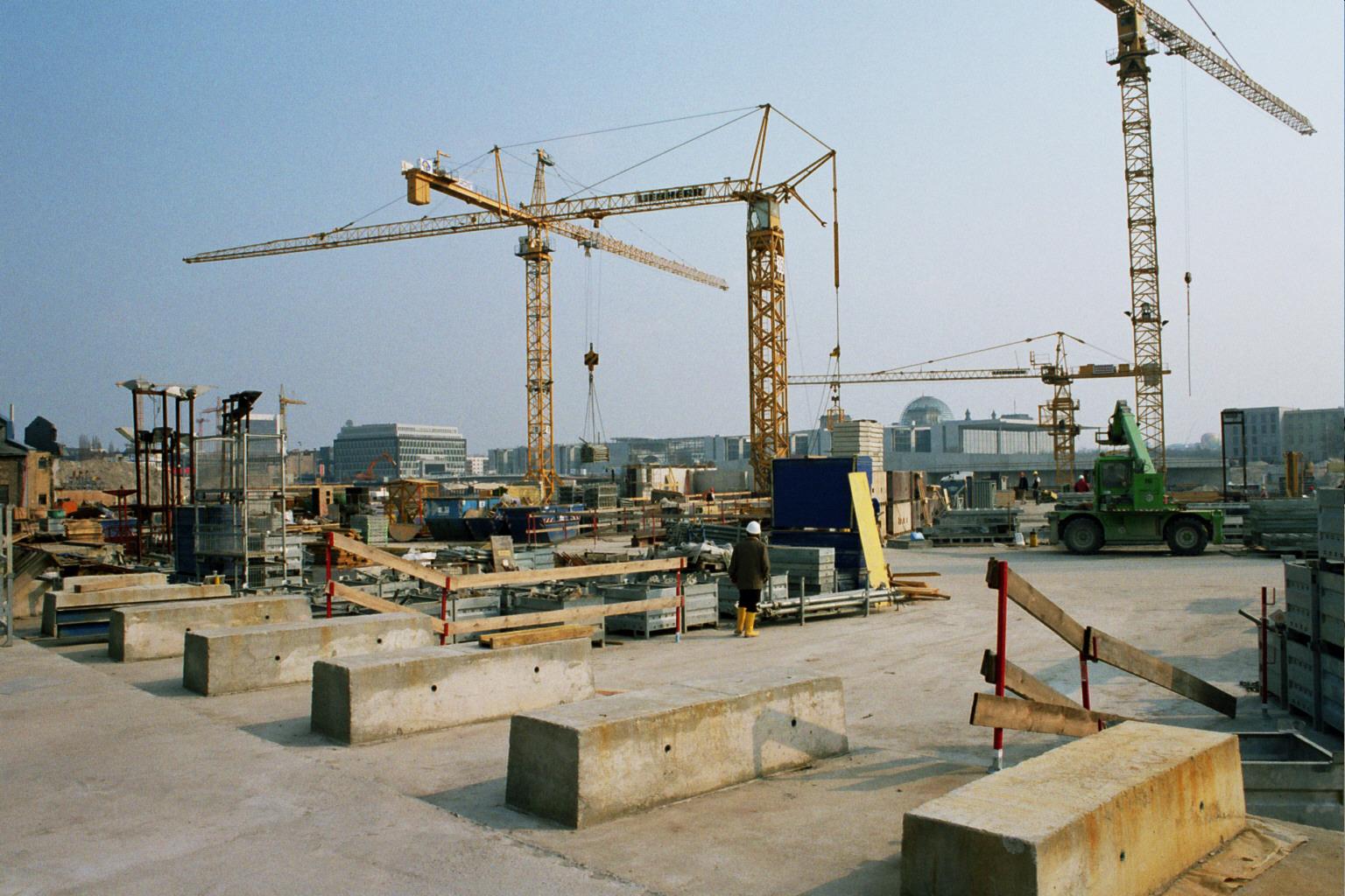 Bau meldet Umsatzplus