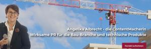 Die Titelseite von albrecht-pr.de