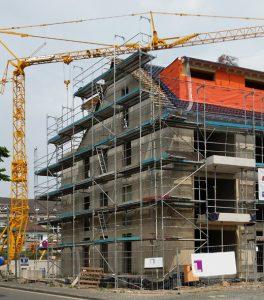 Baukonjunktur brummt: Wohnungsbau in Bonn, Foto: Angelika Albrecht
