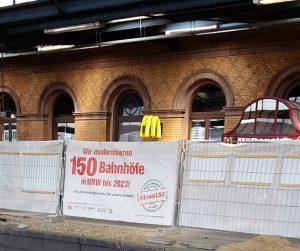 Baustelle Hbf Bonn, Foto: Angelika Albrecht