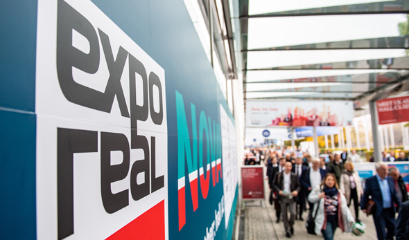 Andrang bei der Expo Real 2019