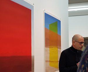 Bauhaus-Ausstellung in Düsseldorf zum Thema Fotografie im Bauhaus, Kuratorenführung
