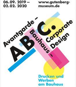 Typografie am Bauhaus - Hinweis auf eine Sonderausstellung am Gutenbergmuseum in Mainz