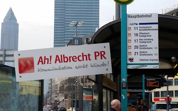 Angelika Albrecht jetzt in Frankfurt a. M.