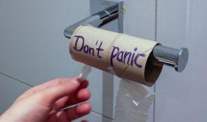 Ein Internationaler Tag des Toilettenpapiers, damit das Papier von der Rolle nicht ausgeht