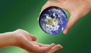 Sorgsam mit der Erde umgehen. Mithilfe von Normen