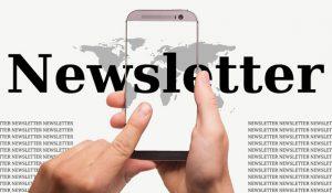 Kommunikation über Newsletter
