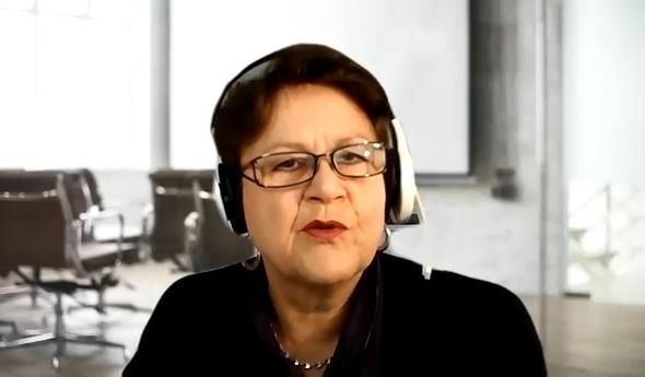 Angelika Albrecht im Video-Interviews